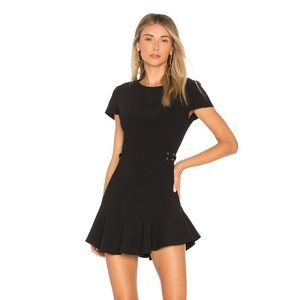 Amanda Uprichard REVOLVE McKenna Dress in Black